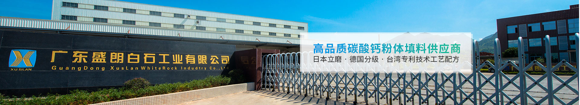 盛朗白石-高品质碳酸钙粉体填料供应商