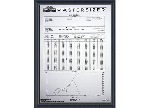 盛朗白石-XL2000质检报告