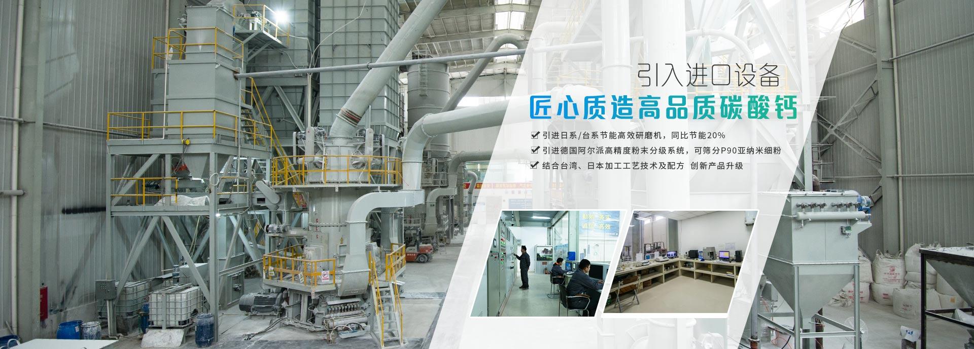 盛朗白石-引入进口设备,匠心质造高品质碳酸钙